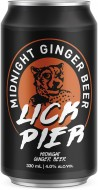 LICK PIER MIDNIGHT GINGER BEER CANS