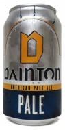 DAINTON PALE ALE CANS
