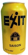 EXIT BREWING SAISON CAN