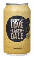 LOVEDALE LAGER CANS
