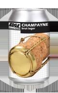EDGE CHAMPAYNE BRUT LAGER CANS
