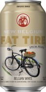NEW BELGIUM FAT TIRE WHITE CANS